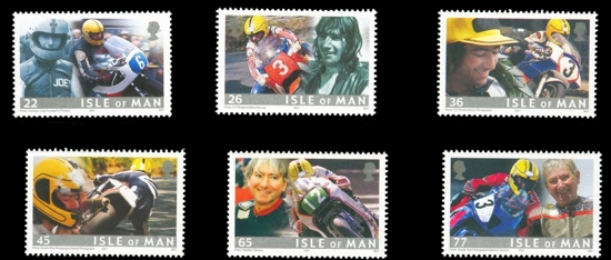 Joey Dunlop commemorative stamps